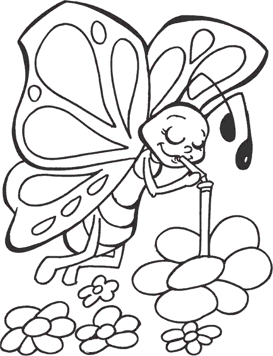 coloring pages caterpillars cartoon - photo#16