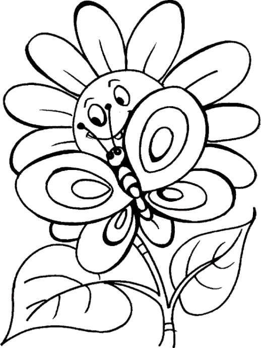 Buho Para Colorear besides 310272 likewise Raskraski 8 in addition Coloring Of Flowers moreover Floral Border 71131525. on flower coloring pages kids